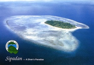 Sipadan Island from the air