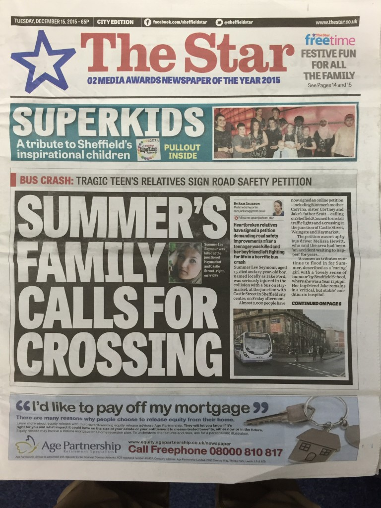 Superkids front page