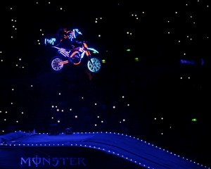Tron, Monster energy Arenacrossuk, sports photojournalism
