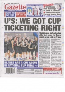 Essex Blades, Gazette