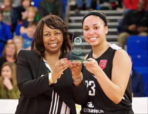 Jazmine Charles, Essex Blades, winner Most Valuable Player award