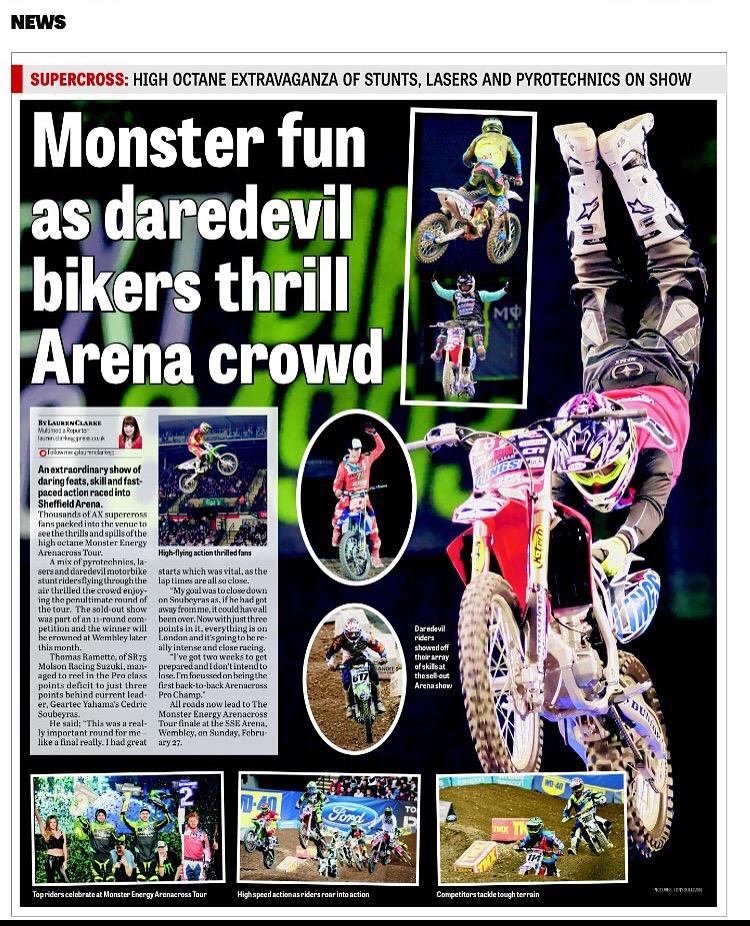 Arenacrossuk full page spread
