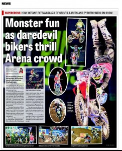 Sheffield Star, Arenacrossuk, photojournalism
