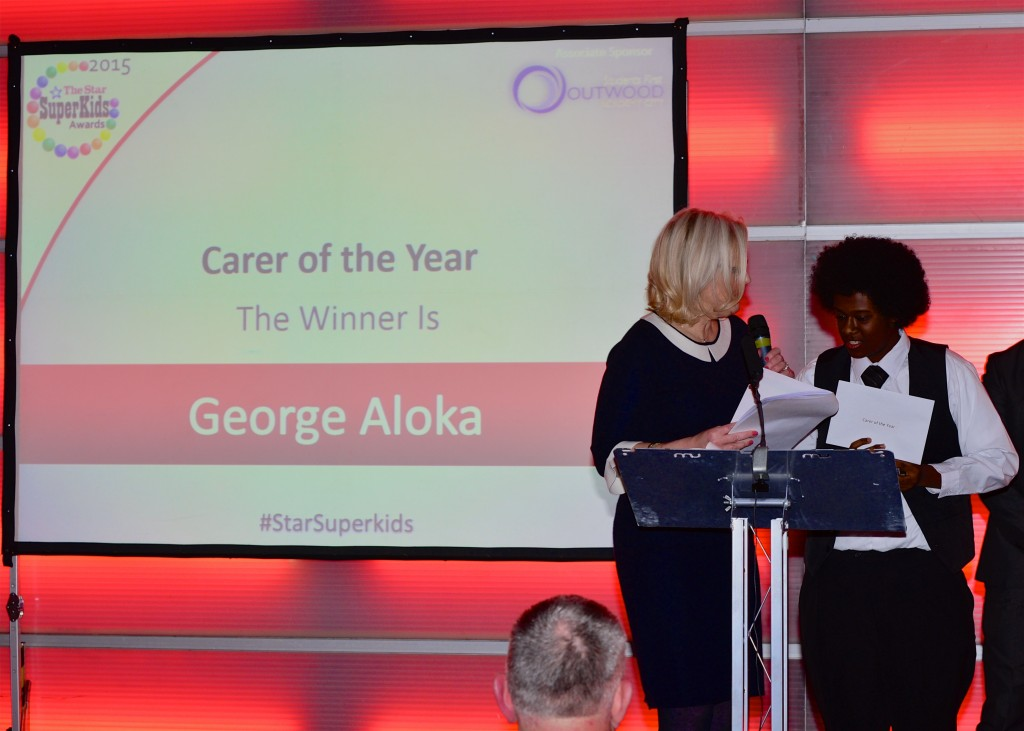 Carer of the Year award goes to George Aloka