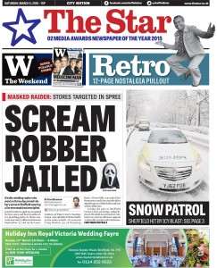 Another front page image - Snow Patrol